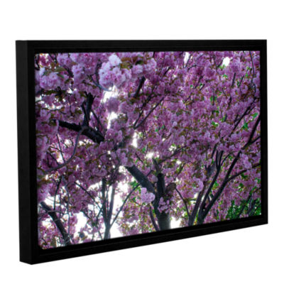 Brushstone Spring Flowers Gallery Wrapped Floater-Framed Canvas Wall Art