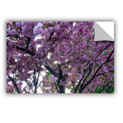 Brushstone Spring Flowers Removable Wall Decal
