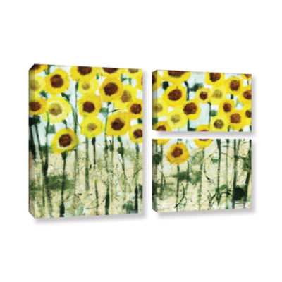 Brushstone Sundrops 3-pc. Flag Gallery Wrapped Canvas Wall Art