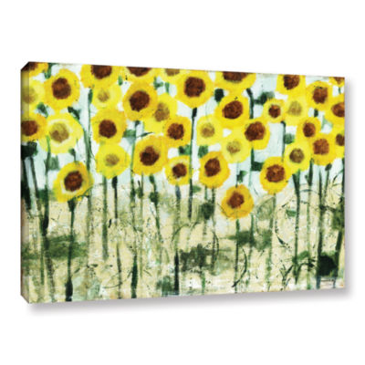 Brushstone Sundrops Gallery Wrapped Canvas Wall Art