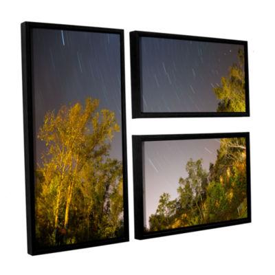 Brushstone Star Trails 3-pc. Flag Floater Framed Canvas Wall Art