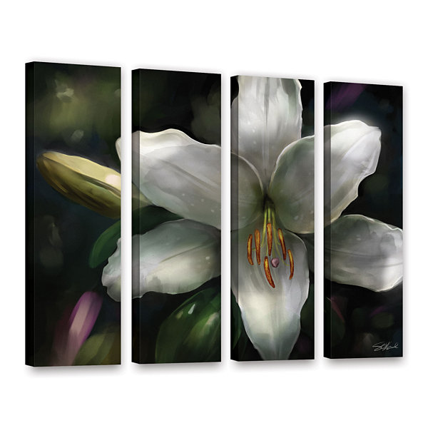 Brushstone Star Gazer 4-pc. Gallery Wrapped CanvasWall Art