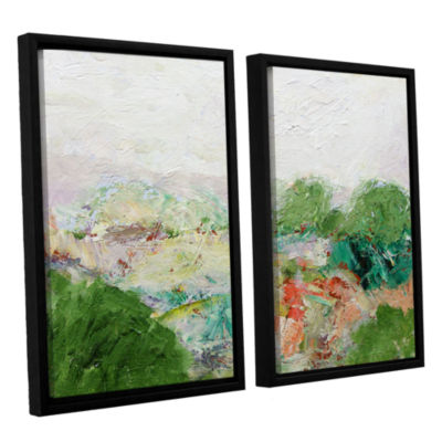Brushstone Blackstone 2-pc. Floater Framed CanvasWall Art