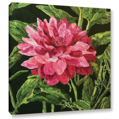 Brushstone Bloom Gallery Wrapped Canvas Wall Art