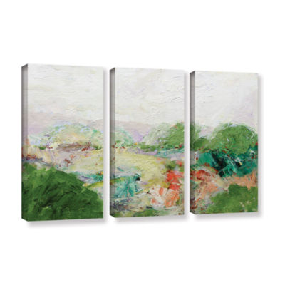 Brushstone Blackstone 3-pc. Gallery Wrapped CanvasWall Art