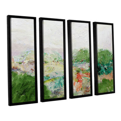 Blackstone 4-pc. Floater Framed Canvas Wall Art