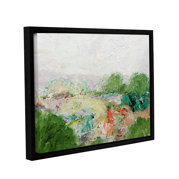 Brushstone Blackstone Gallery Wrapped Floater-Framed Canvas Wall Art