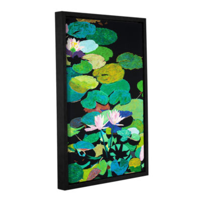 Brushstone Blair's Magic Pond Gallery Wrapped Floater-Framed Canvas Wall Art