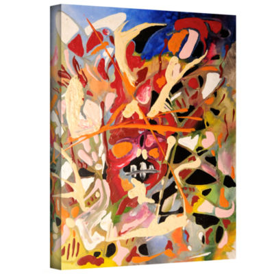 Brushstone Blast Gallery Wrapped Canvas Wall Art