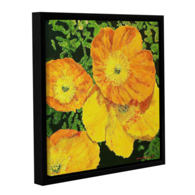 Brushstone Blazing Glory Gallery Wrapped Floater-Framed Canvas Wall Art