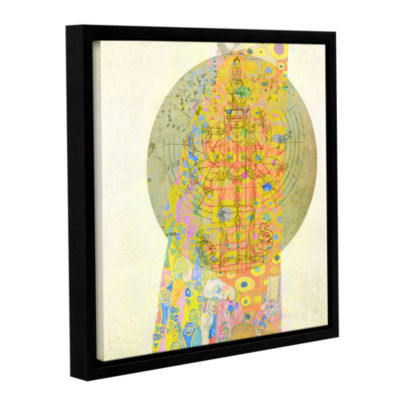Blessings From The Goddess Gallery Wrapped Floater-Framed Canvas Wall Art