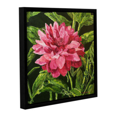Brushstone Bloom Gallery Wrapped Floater-Framed Canvas Wall Art