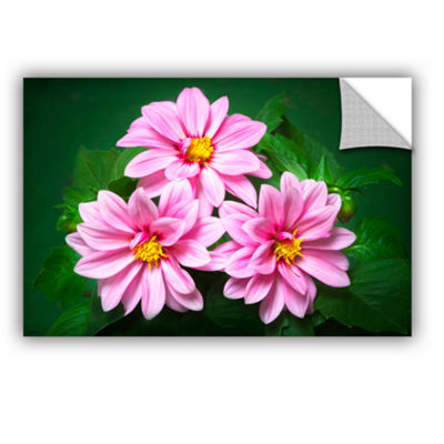 Blooming Flowers Removable Wall Decal