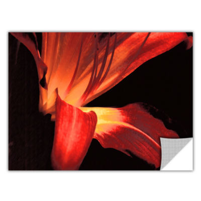 Brushstone Blossom Glow Removable Wall Decal