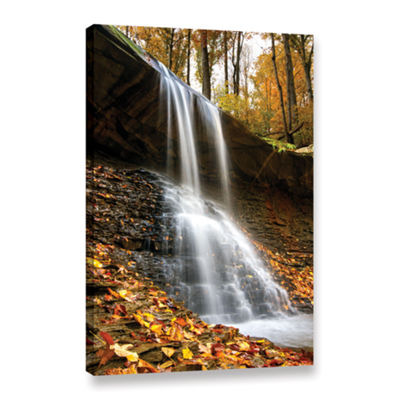 Blue Hen Falls 2 Gallery Wrapped Canvas Wall Art