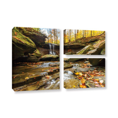 Blue Hen Falls 3 3-pc. Flag Gallery Wrapped CanvasWall Art