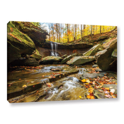 Blue Hen Falls 3 Gallery Wrapped Canvas Wall Art