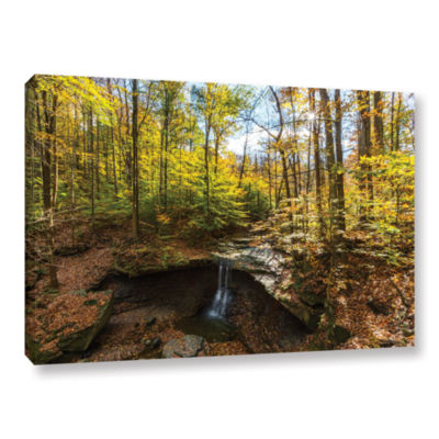 Blue Hen Falls Gallery Wrapped Canvas Wall Art