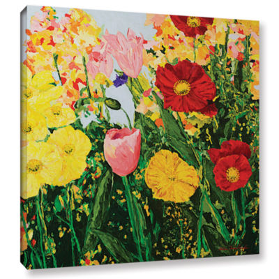 Blue Skies And Sunshine Gallery Wrapped Canvas Wall Art