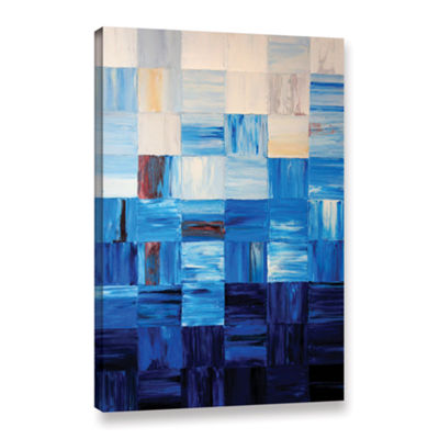 Bluesquares Gallery Wrapped Canvas Wall Art