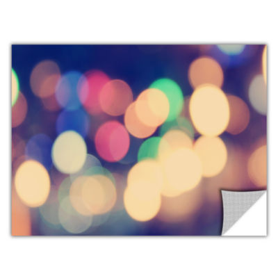 Blurred Lights Removable Wall Decal