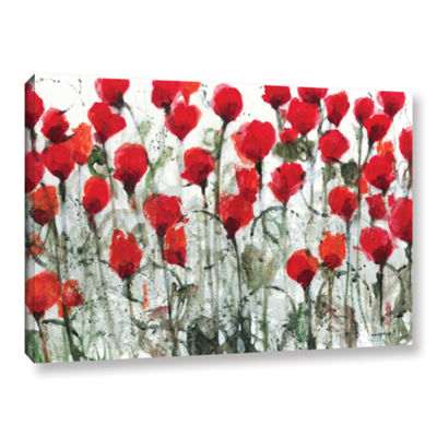Blushing Meadow Gallery Wrapped Canvas Wall Art