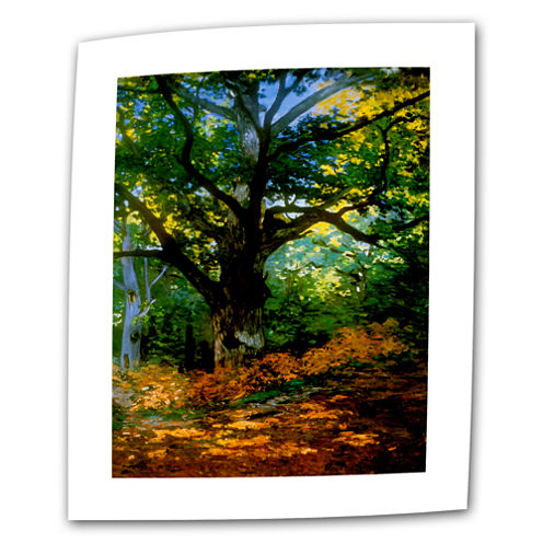 Bodmer Oak At Fountainbleau Forest Canvas Wall Art