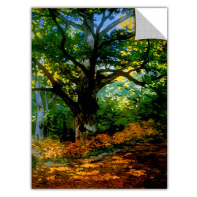 Bodmer Oak At Fountain bleau Forest Removable Wall Decal