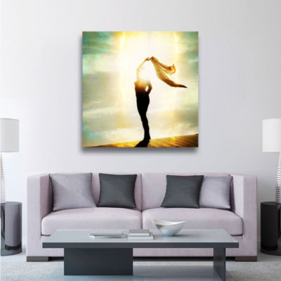 Body Light Gallery Wrapped Canvas Wall Art