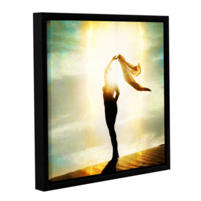 Body Light Gallery Wrapped Floater-Framed Canvas Wall Art