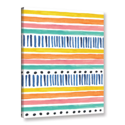 Boho Chic 3 Gallery Wrapped Canvas Wall Art