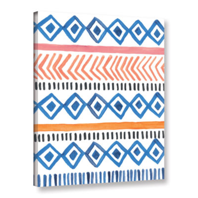 Boho Chic 5 Gallery Wrapped Canvas Wall Art