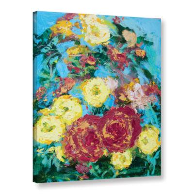 Bois De Boulogne Garden Gallery Wrapped Canvas Wall Art