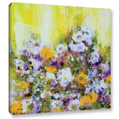 Bois De Vincennes Garden Gallery Wrapped Canvas Wall Art