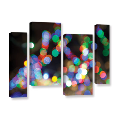 Bokeh 1 4-pc. Gallery Wrapped Staggered Canvas Wall Art