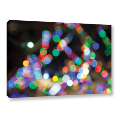 Bokeh 1 Gallery Wrapped Canvas Wall Art