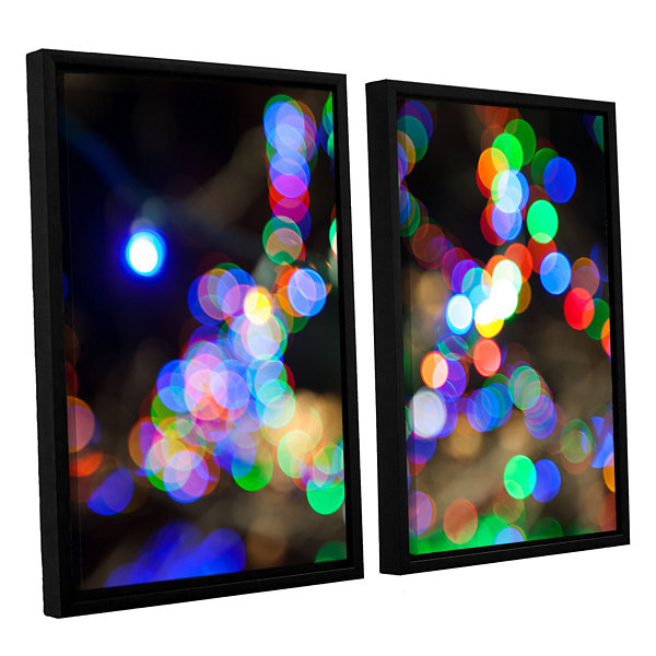 Bokeh 2 2-pc. Floater Framed Canvas Wall Art