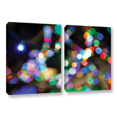 Bokeh 2 2-pc. Gallery Wrapped Canvas Wall Art
