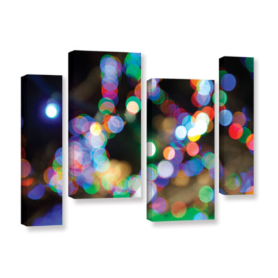 Bokeh 2 4-pc. Gallery Wrapped Staggered Canvas Wall Art
