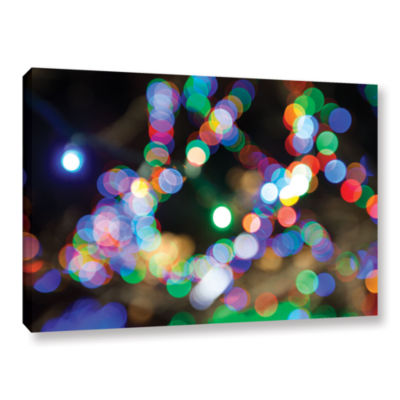 Bokeh 2 Gallery Wrapped Canvas Wall Art