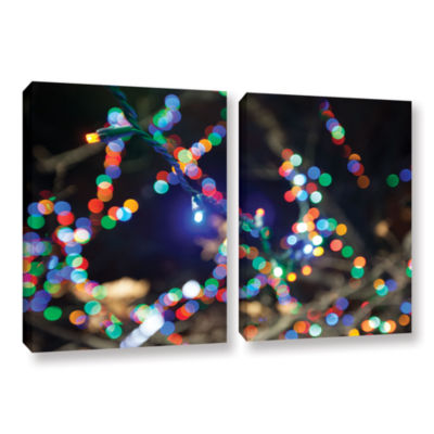 Bokeh 3 2-pc. Gallery Wrapped Canvas Wall Art