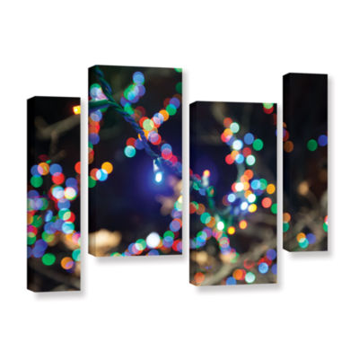 Bokeh 3 4-pc. Gallery Wrapped Staggered Canvas Wall Art