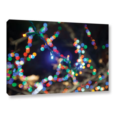 Bokeh 3 Gallery Wrapped Canvas Wall Art