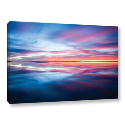 Bonnieville Salt Flats Gallery Wrapped Canvas WallArt