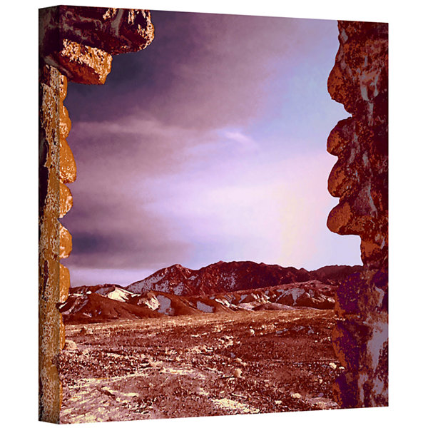 Borax Ruins Gallery Wrapped Canvas Wall Art