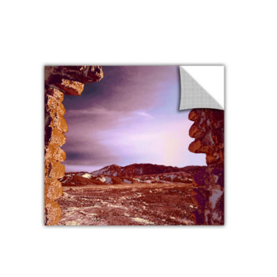 Borax Ruins Removable Wall Decal