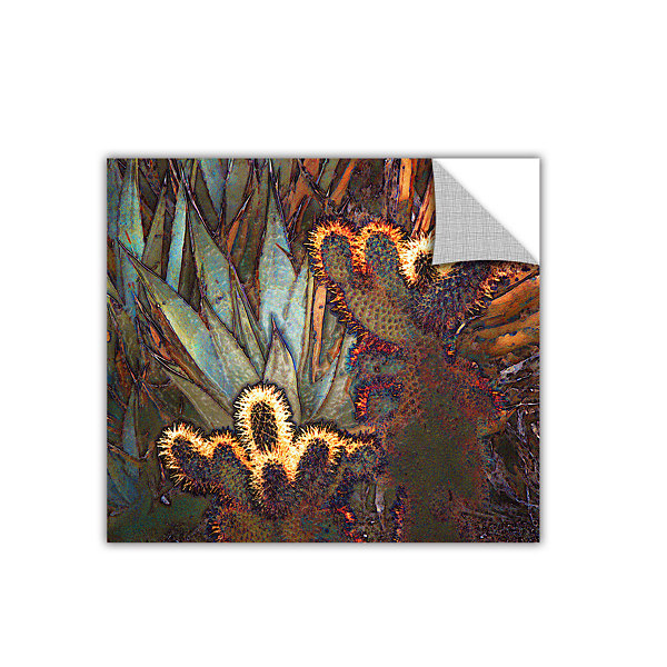 Borrego Cactus Patch Removable Wall Decal