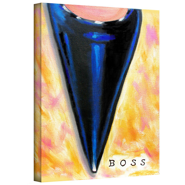 Boss Gallery Wrapped Canvas Wall Art