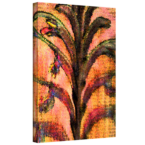 Botanical Edges Gallery Wrapped Canvas Wall Art
