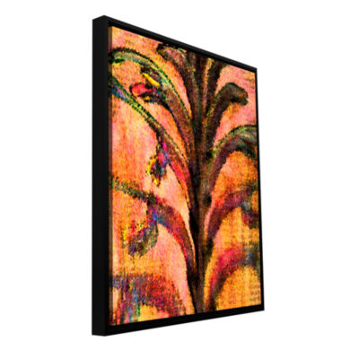 Botanical Edges Gallery Wrapped Floater-Framed Canvas Wall Art